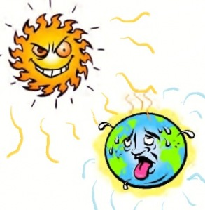 Hot sweltering weather in Chennai