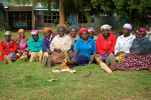 A Self-Help Group from Limuru fighting food insecurity