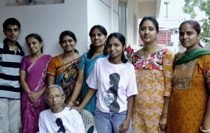 World Moms Blog Senior Editor, Purnima Ramakrishnan, with her grandmother and friends speak about the importance of vaccines.