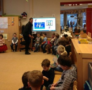 Brody's first day of school in the Netherlands.