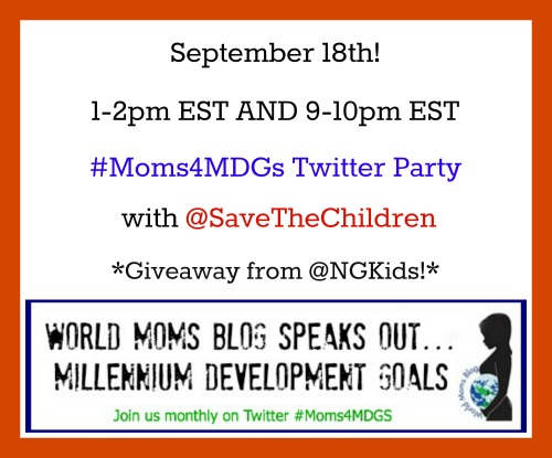 MDG2 Twitter Party Sept18