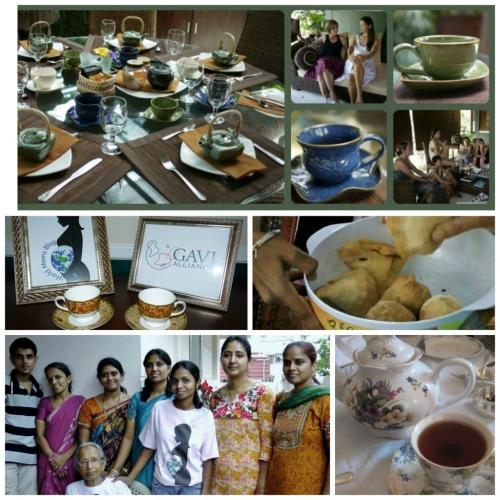 Host a GAVI Global Tea Party!