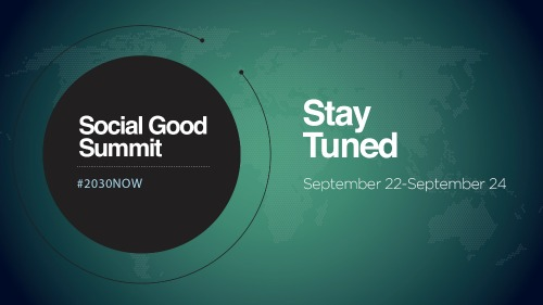 Social Good Summit 13 500
