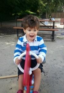 xavi at playground