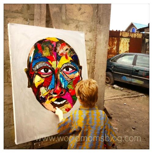 Painting congo