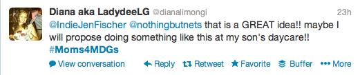 #Moms4MDGs Diana On Malaria