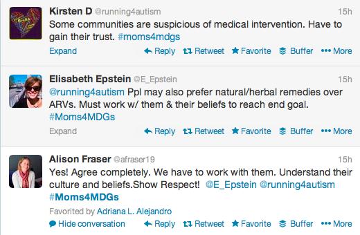 #Moms4MDGs Culture Beliefs Medicine
