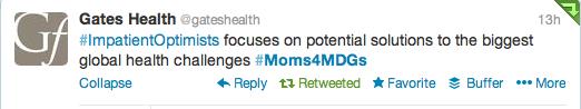 Gate Health Impatient Optimists Tweet