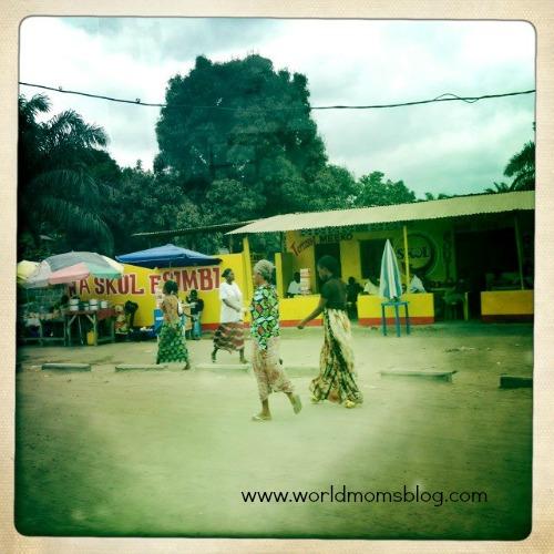 people in Kinshasa Congo