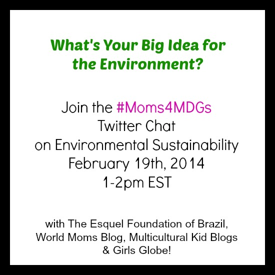 #Moms4MDGs MDG7 Feb 19