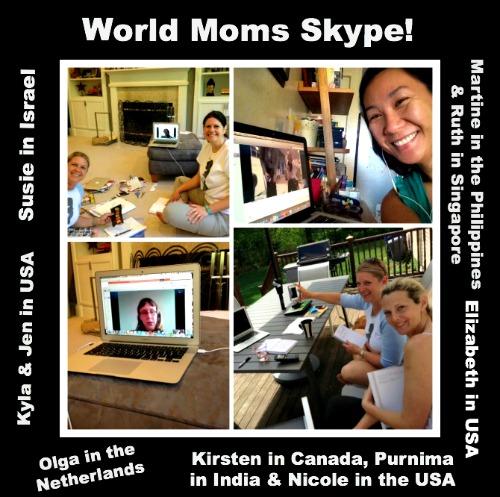 World Moms Skype!