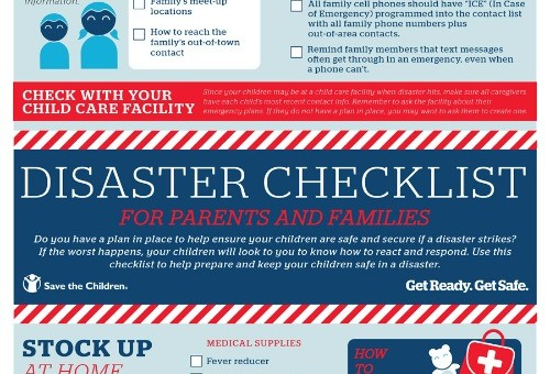 SPECIAL REPORT: Is Your Family Prepared for Disaster? With @SaveTheChildren