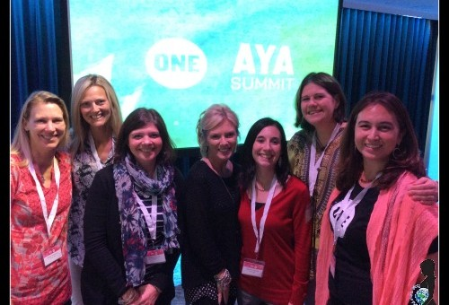 #WorldMoms at Google with @ONEWomenGirls for #AYASummit!