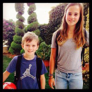 #WorldMom Jackie's children