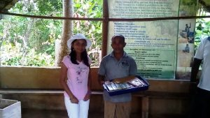 #WorldMom Purnima and Mr. Lalit Galle at the Cinnamon Islands