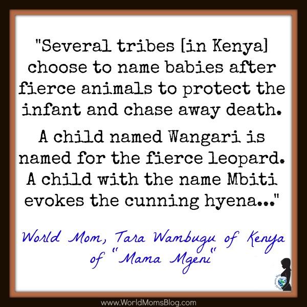 Kenyan Baby Names
