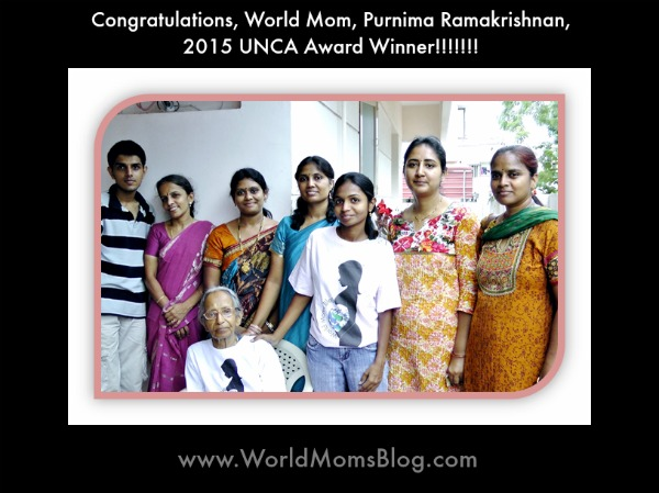 Purnima Wins UNCA Award 2015