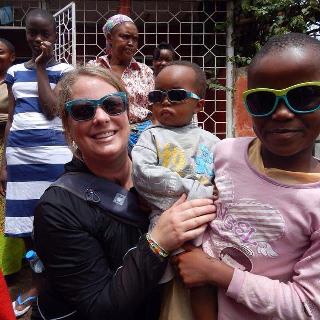 Alison in Tanzania