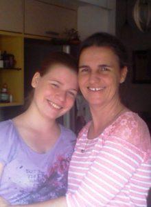 Dr. Veronique Nicolai and Daughter