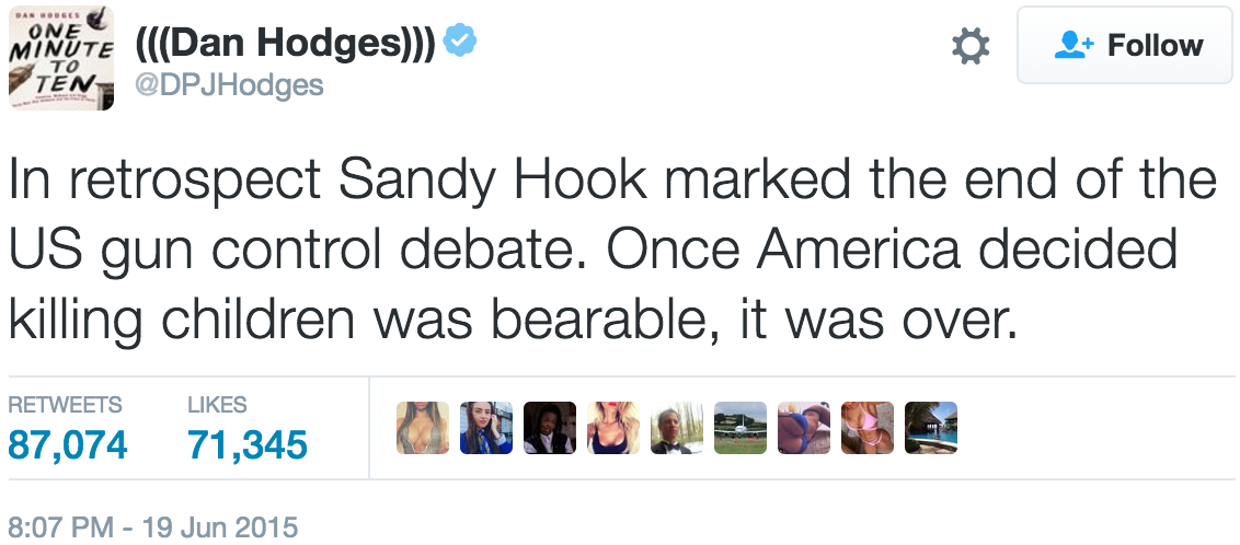 Sandy Hook Tweet