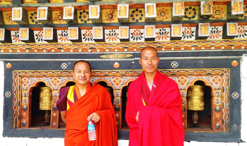 Monks Looking On...!