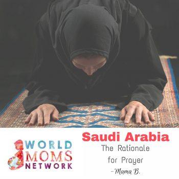 SAUDI ARABIA: The Rationale for Prayer