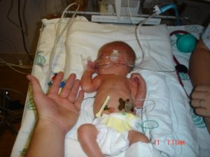 The day of Roxanne Piskel's son's birth
