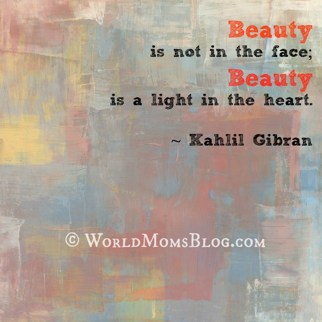 Kahlil Gibran beauty quote