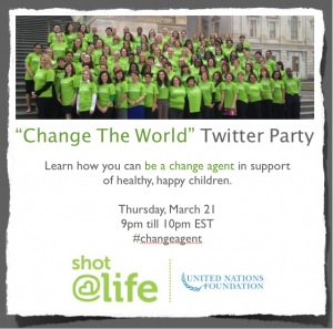 Shot@Life Twitter Party
