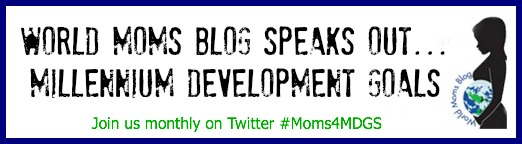 #Moms4MDGs Button