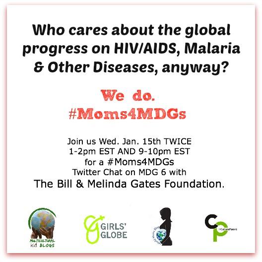 #Moms4MDGs Jan 15 Twitter Parties MDG6