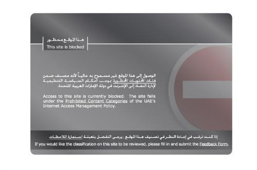 Censorship UAE