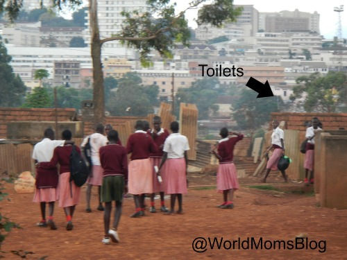 School Toilets Railway Children Primary School Kampala