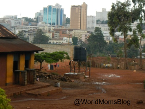 Water Tower to Wash Hands Kampala