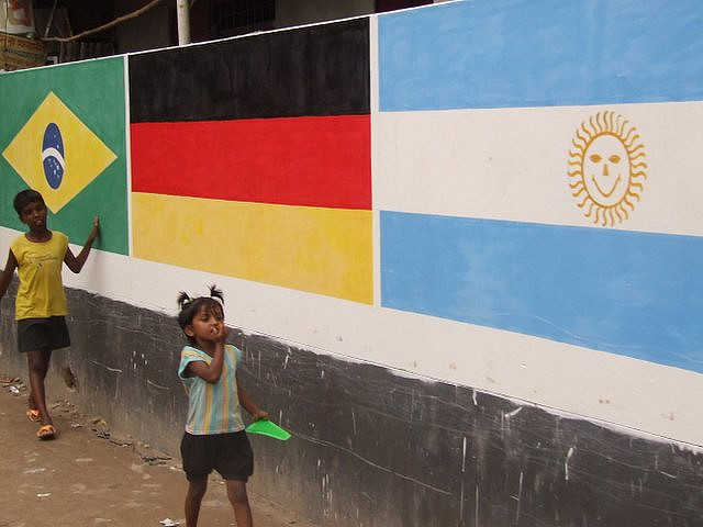Kids and Brazil World Cup