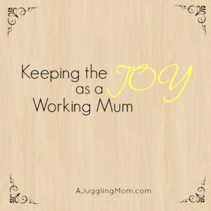 Keeping The Joy