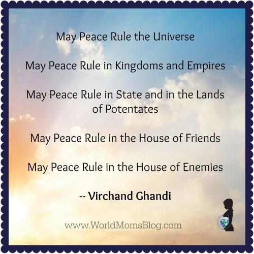 Peace Ghandi