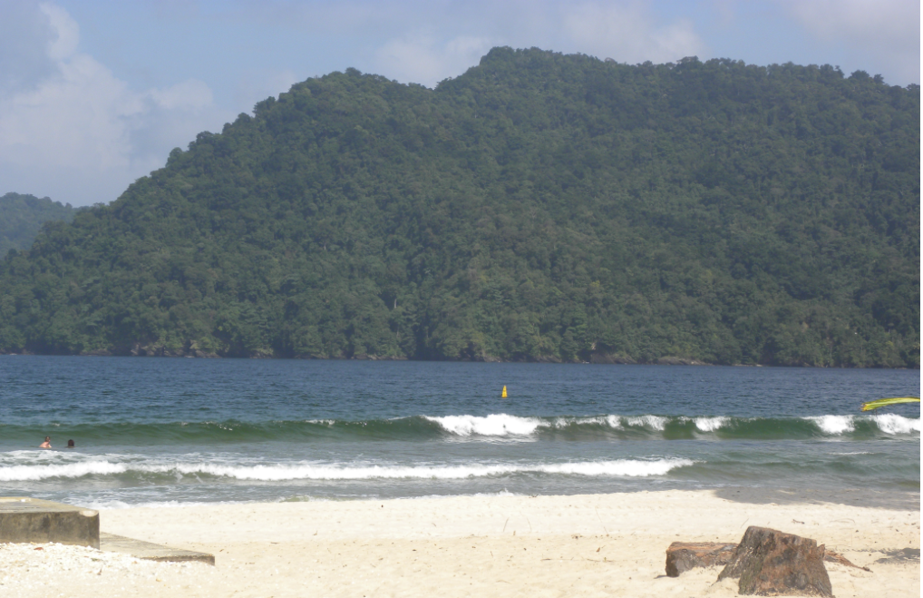 """Maracas Bay Beach, Trinidad & Tobago. Photo by Lazette Nichols"""