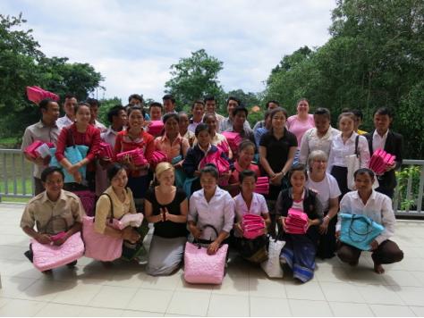 Yale & CleanBirth Training of Laos Nurses