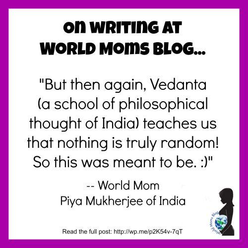 Piya On Writing At WMB