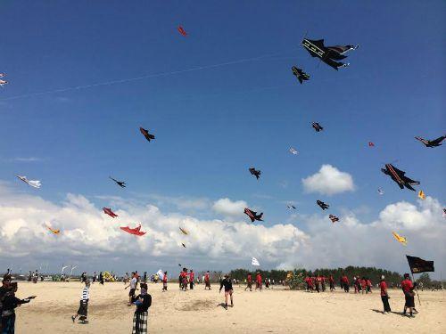 WMB Bali Kite Flying 2