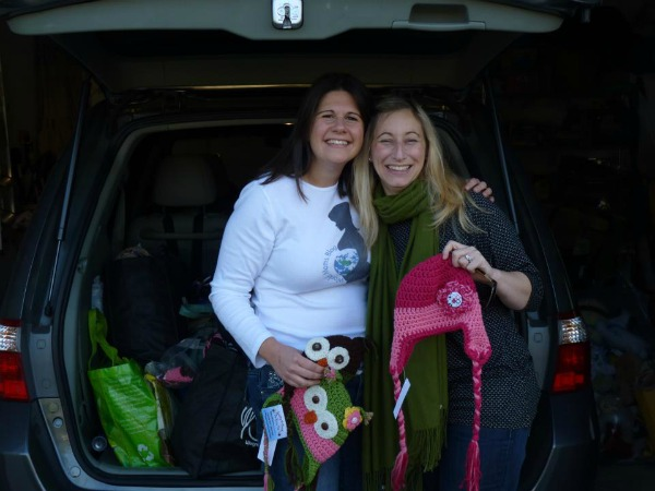 Jen Burden and Sarah Hughes Hurricane Sandy