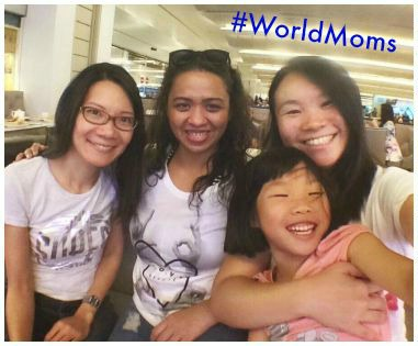 World Moms Singapore Airport 2015