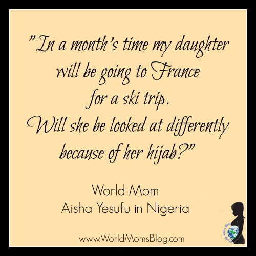 2015 WMB Quote Hijab in Paris Aisha