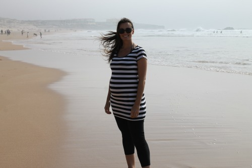 Julie Dutra on Beach in Brazil 500