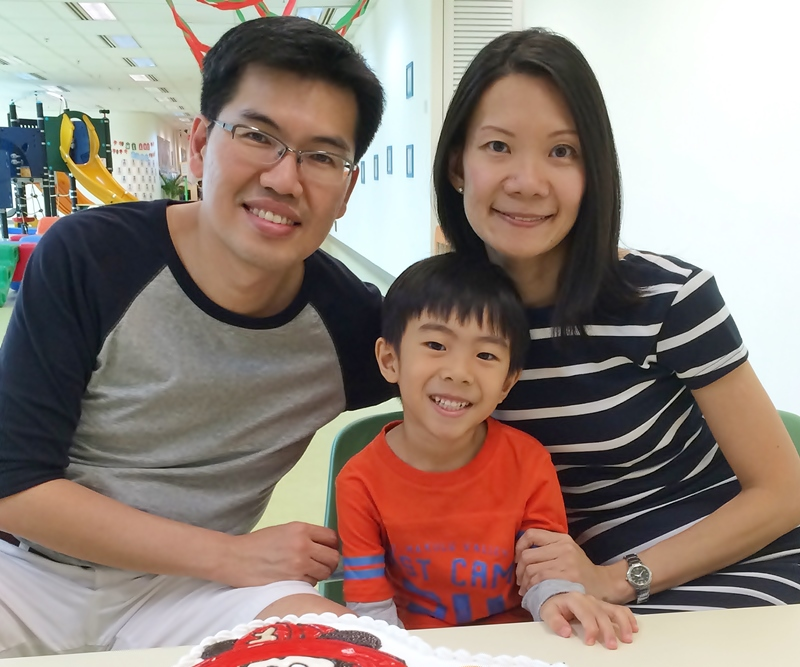 Ruth & family from Singapore