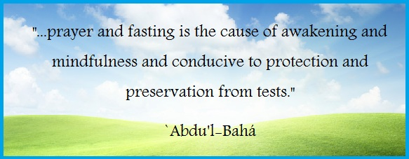 Fasting in Faith