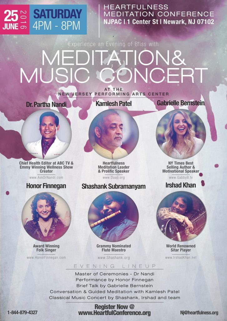 Welcome to the Meditation Conference at NJPAC